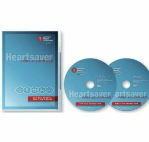 AHA Heartsaver® First Aid CPR AED DVD Set (15-1019)