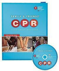 Family & Friends® CPR DVD With Facilitator Guide (15-1017)