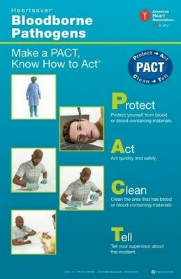 Heartsaver® Bloodborne Pathogens Poster Pack