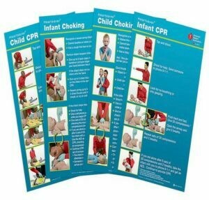AHA Poster Pack Heartsaver® Child And Infant Posters (15-1029)
