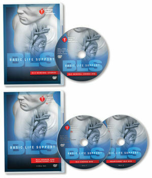 Basic Life Support (BLS) DVD Set with Renewal Course DVD (15-1079)