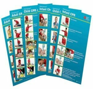 Poster Pack® HeartSaver Posters(15-1030)