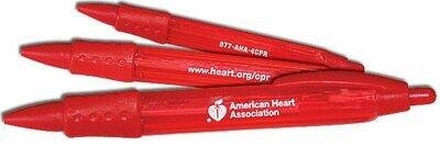 ECC Red Click Pen
