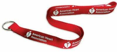 American Heart Association Lanyard