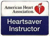 Heartsaver® Instructor Lapel Pin