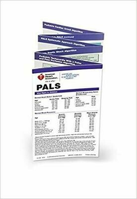 Pediatric Advanced Life Support (PALS) Pocket Reference Card