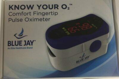 Blue Jay Comfort Fingertip Pulse Oximeter  BJ240100