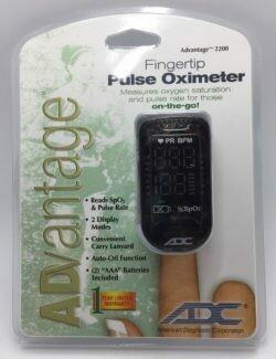 Pulse Oximeter Fingertip ADC Advantage 2200 (12-2200ADC)
