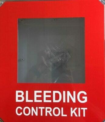 Bleeding Control Kit Wall Mount Cabinet