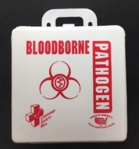 BloodBorne Pathogen Kit - 6PW - Poly White Certified (200-085)