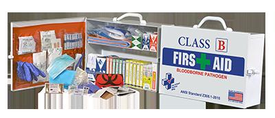 Class B & BBP 75H First Aid Kit  616-009