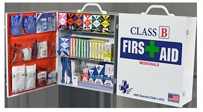 Class B + Meds FAC-3 First Aid Cabinet 3 Shelf  616-008