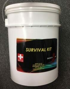 Disaster Survival Kit for 5 person for 3 Days FAKSURBK53