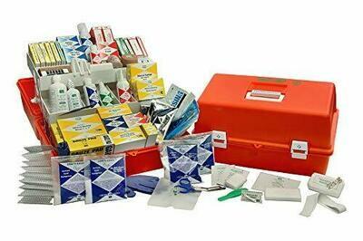 Emergency Trauma Care Kit Deluxe - Orange Co-Polymer Case