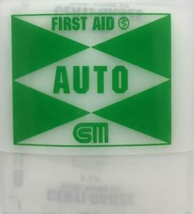 First Aid Kit  - Auto First Aid Kit TB-11 - Certified (206-009)