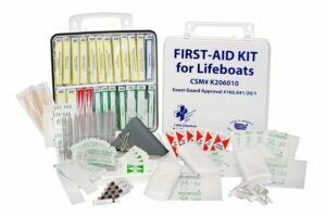 First Aid Kit for Lifeboats 206-010 Coast Guard Approval # 160.041/20/1