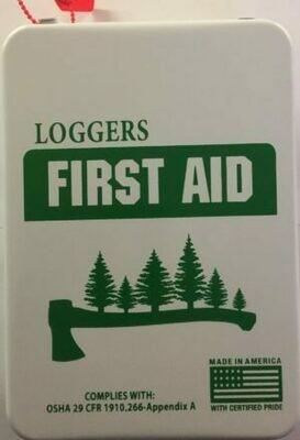 Loggers 16M Metal First Aid Kit