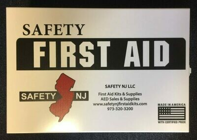 New Jersey Public Recreational Bathing Facilities First Aid Kit  2000 - 5000 sq. ft.