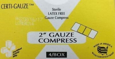 #622CG Gauze Bandage Compress - 2