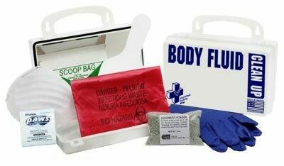 10PW - National Standard Body Fluid Kit - Poly White 200-919