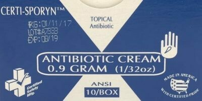 Antibiotic Cream - 663 Certi-Sporyn - 0.9g - Certified (213-011) 10/box