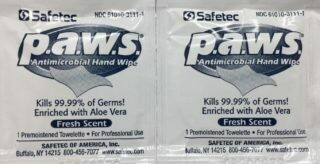 Antimicrobial Towelettes - Certified (213-006) 10/box