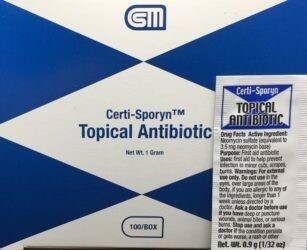 Antibiotic Cream - Certi-Sporyn - Certified (233-360) 100/box