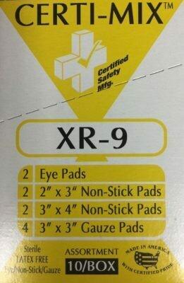 Certi-Mix XR-9  (Assorted Pads) 211-055