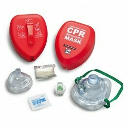 CPR Adult/Child And Infant Resuscitator CPR Masks In Hard Red Case