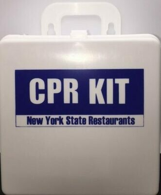 CPR Kit - State of New York Restaurants with Sign - Certified (607-018)