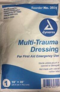 dynarex Multi-Trauma Dressing #3531 10