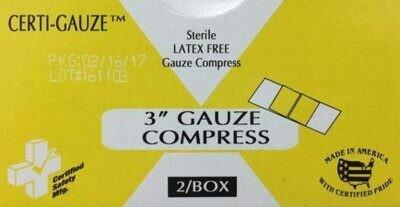 Gauze Bandage Compress- 3