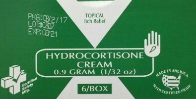 Hydrocortisone Cream 1% - 1g - Certified (216-025) 6/box