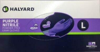 Nitrile Gloves -Kimberly-Clark Safeskin Purple Nitrile