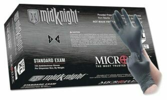 Midnight Nitrile Gloves Large 100/box