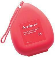 Pocket Mask- Ambu® Res-Cue Mask Basic in Hard Red Case (252103)
