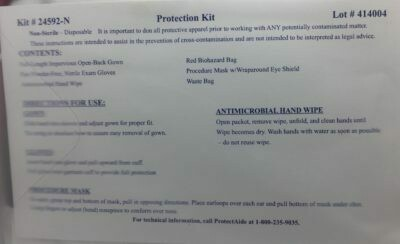 Protection Kit - Infection Control Kit  (24592-N)