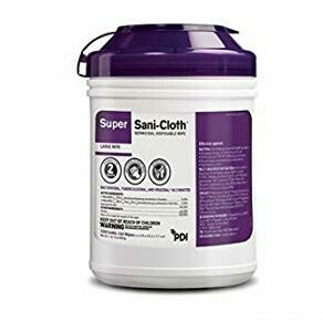 Professional Disposables Surface Disinfectant Super Sani-Cloth Wipes 6X7 160/Cn by SANI-CLOTH SUPER