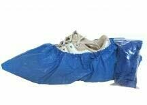 Shoe Covers - Plastic - Pair - Certified (216-086)