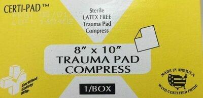 Trauma Pad Compress - 8
