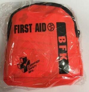XLP - National Standard Body Fluid Kit - Orange Nylon Pouch 200-919