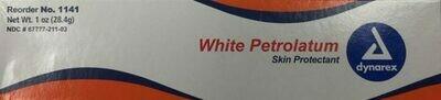 White Petrolatum (Petroleum) 1 oz tube - dynarex