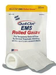 QuikClot® EMS Rolled Gauze