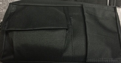 First aid Fanny Pack Black with supplies