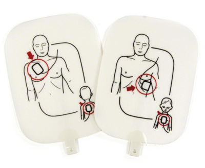 Prestan Professional AED Trainer Pads (Size & Quantity Options Avaliable)