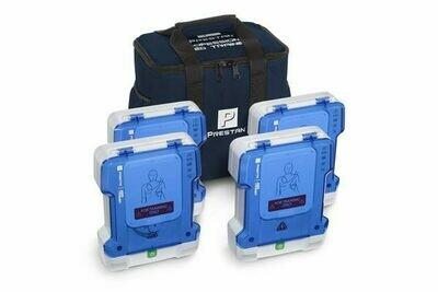 AED Prestan Professional AED Trainer 4-Pack (PP-AEDT-401)