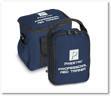 Prestan AED Trainer Carry Case - Blue Bag