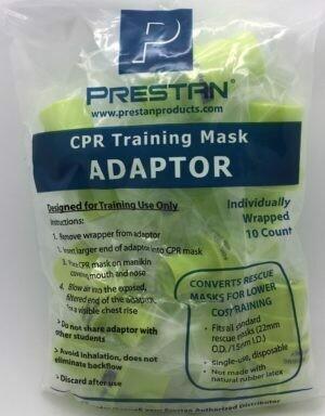 Prestan CPR Training Mask Adaptors (10076-PPA) 10/pkg
