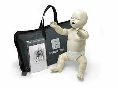 Prestan Professional Infant CPR-AED Training Manikin With CPR Monitor (Available in Multiple Skin Colors and Quantities)