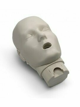 Prestan Professional Jaw Thrust Manikin Head (Available in Multiple Colors and Quantities)